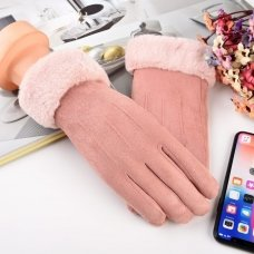 Universal Winter Gloves - Touch Screen Compatible Light Pink