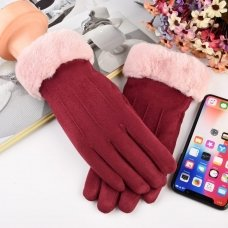 UNIVERSAL WINTER GLOVES - TOUCH SCREEN COMPATIBLE PINK