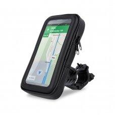 Universalus telefono laikiklis Maxlife MXBH-01 L, dviračiui, atsparus vandeniui,15x8,5x2,5 cm dydis