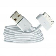 USB kabelis Apple 4G 30-Pin 3.0m HQ