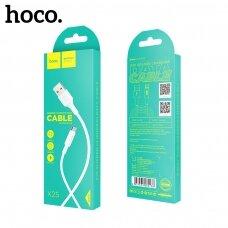 USB kabelis Hoco X25 microUSB 1.0m baltas