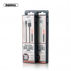 USB kabelis Remax FastCharging RC-120m microUSB 2.1A juodas 0.3m