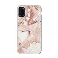 Wozinsky Marble TPU dėklas Samsung Galaxy A51 rožinis