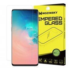 """Apsauginė Plėvelė Pilnai Dengianti Ekraną """"Wozinsky 3D Film"""" Samsung Galaxy S10 (In-Display Fingerprint Sensor Friendly)"""