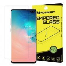 """Apsauginė Plėvelė Pilnai Dengianti Ekraną """"Wozinsky 3D Film"""" Samsung Galaxy S10 Plus (In-Display Fingerprint Sensor Friendly)"""