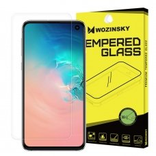 """Apsauginė Plėvelė Pilnai Dengianti Ekraną """"Wozinsky 3D Film"""" Samsung Galaxy S10E"""