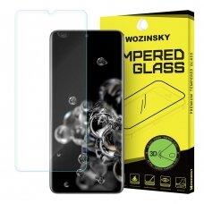 """APSAUGINIS PILNAI DENGIANTS STIKLAS """"WOZINSKY TEMPERED GLASS 3D """" Samsung Galaxy S20 Ultra (czt002) UCA001"""