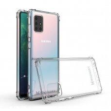 Dėklas Wozinsky Anti Shock Durable skirta Samsung Galaxy M31S Skaidrus
