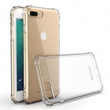 Wozinsky Anti Shock Durable Case With Military Grade Protection Mil-Std-810G 516.6 For Iphone 8 Plus / Iphone 7 Plus Transparent