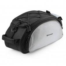 Wozinsky Bicycle Bike Pannier Bag Rear Trunk Bag With Shoulder Strap 13L Black (Wbb1Bk)