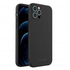 Dėklas Wozinsky Color Case silikonas iPhone 12 Pro Juodas