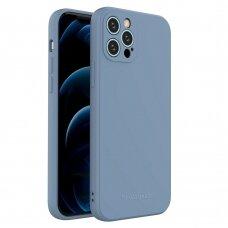 Dėklas Wozinsky Color Case silikonas iPhone 12 Pro Mėlynas