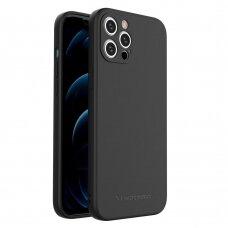 Dėklas Wozinsky Color Case silikonas iPhone 12 Pro Max Juodas