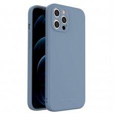 Dėklas Wozinsky Color Case silikonas iPhone 12 Pro Max Mėlynas