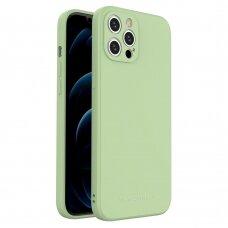 Dėklas Wozinsky Color Case silikonas iPhone 12 Pro Max Žalias