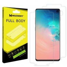 "Apsauginis Hidrogelio Plėvelė  ""Hydrogel Self-Repair 360° ""R Samsung Galaxy S10 - Indisplay Fingerprint Compatible"