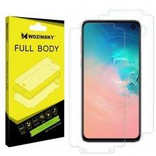 """Apsauginis Hidrogelio Plėvelė  """"Hydrogel Self-Repair 360° """"R Samsung Galaxy S10E"""