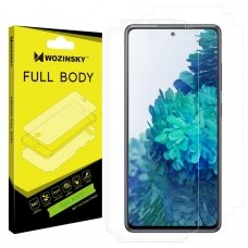 Wozinsky Full Body Self-Repair 360° Full Coverage Screen Protector Film skirta Samsung Galaxy S20 Fe 5G