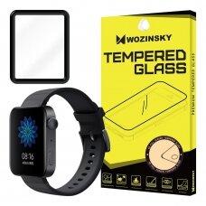 Wozinsky Full Glue Film Super Tough Screen Protector Full Coveraged with Frame Case Friendly for Xiaomi Watch juodas (ctz011)