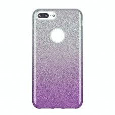 "BLIZGUS TPU DĖKLAS ""WOZINSKY GLITTER"" IPHONE 8 PLUS / IPHONE 7 PLUS VIOLETINIS HG99"