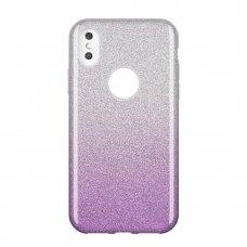 """Blizgus Tpu Dėklas """"Wozinsky Glitter"""" Samsung Galaxy A9 2018 A920 Violetinis"""