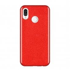 "Blizgus Tpu Dėklas ""Wozinsky Glitter"" Samsung Galaxy A9 2018 A920 Raudonas"