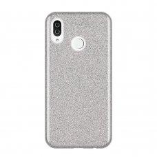 "Blizgus Tpu Dėklas ""Wozinsky Glitter"" Samsung Galaxy A9 2018 A920 Sidabrinis"