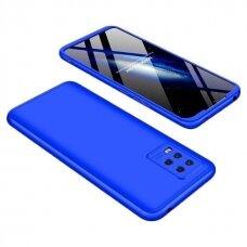 Dviejų dalių plastikinis dėklas GKK 360 Protection  Xiaomi Mi 10 Lite mėlynas