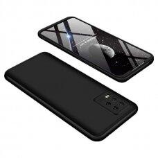 Dviejų dalių plastikinis dėklas GKK 360 Protection  Xiaomi Mi 10 Lite juodas