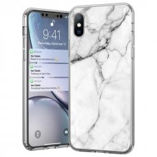 Wozinsky Marble Tpu Dėklas Iphone Xs / Iphone X Baltas