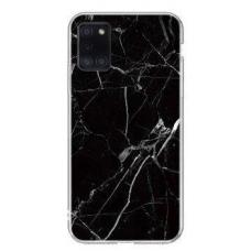"""Tpu Dėklas """"Wozinsky Marble""""  Samsung Galaxy A02s juodas"""