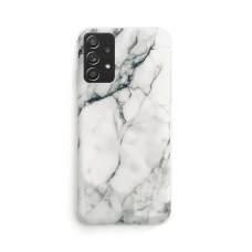 Dėklas Wozinsky Marble TPU Samsung Galaxy A32 4G Baltas