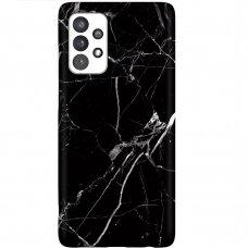 Dėklas Wozinsky Marble TPU  Samsung Galaxy A32 5G juodas