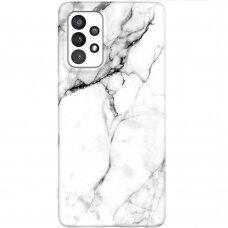 Dėklas Wozinsky Marble TPU  Samsung Galaxy A32 5G baltas