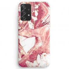 Dėklas Wozinsky Marble TPU Samsung Galaxy A72 4G Rožinis