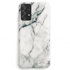 Dėklas Wozinsky Marble TPU  Samsung Galaxy A72 4G Baltas