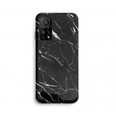 Dėklas Wozinsky Marble TPU  Xiaomi Mi 10T Pro / Mi 10T Juodas