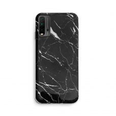 Dėklas Wozinsky Marble TPU Xiaomi Poco M3 / Xiaomi Redmi 9T Juodas