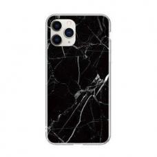 Wozinsky Marble Tpu Dėklas Iphone 12 / 12 Pro Juodas