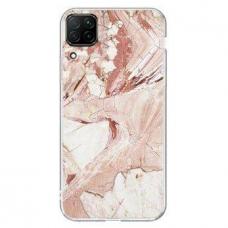 Wozinsky Marble TPU dėklas Samsung Galaxy A42 5G rožinis