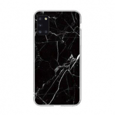 Wozinsky Marble Tpu Dėklas Samsung Galaxy A71 Juodas