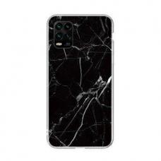 Wozinsky Marble Tpu Dėklas Xiaomi Mi 10 Lite Juodas