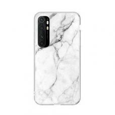 Wozinsky Marble Tpu Dėklas Xiaomi Mi Note 10 Lite Baltas