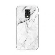 Wozinsky Marble TPU dėklas Xiaomi Redmi Note 9S baltas