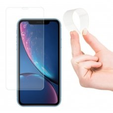 "LANKSTUS APSAUGINIS EKRANO STIKLAS ""WOZINSKY NANO FLEXI GLASS"" IPHONE XR / IPHONE 11 LK44  USC061"