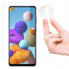Wozinsky Nano Flexi Glass Hibridinis Grūdintas Stiklas Samsung Galaxy A21S