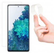 Wozinsky Nano Flexi Glass Hybrid Screen Protector Tempered Glass skirta Samsung Galaxy A72