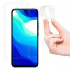 Wozinsky Nano Flexi Glass Hybrid Screen Protector Tempered Glass skirta Xiaomi Mi 10T Lite