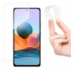 Lankstus apsauginis dėklas Wozinsky Nano Flexi Glass Hybrid Screen Protector Xiaomi Redmi Note 10 Pro