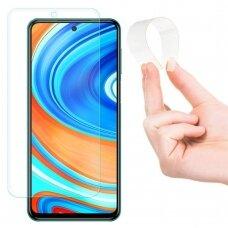 Wozinsky Nano Flexi Grūdintas Hibridinis Apsauginis Stiklas Xiaomi Redmi Note 9 Pro / Redmi Note 9S